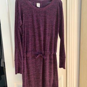 Marika Balance Collection Purple Tunic Dress large
